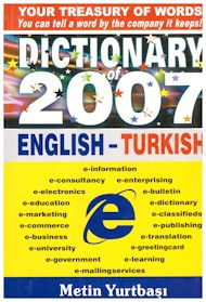 Dictionary of english-turkish